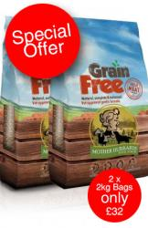 2 x Grain Free Turkey, Sweet potato & Cranberry 2kg Dog Food